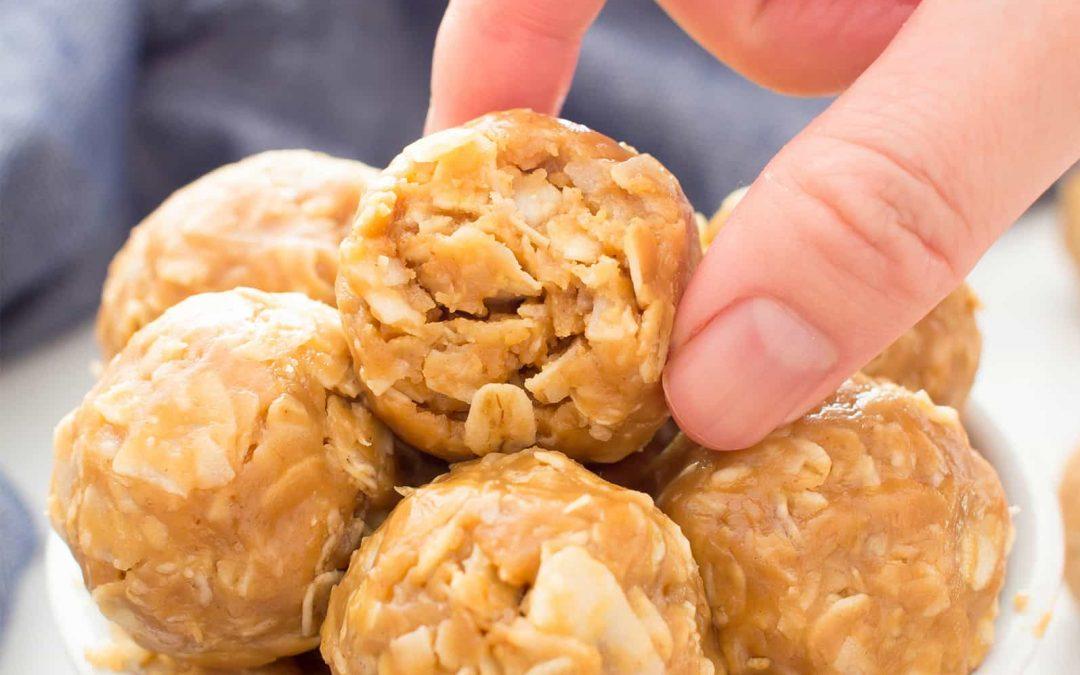 Bolinhos de Pasta de Amendoim Overrun