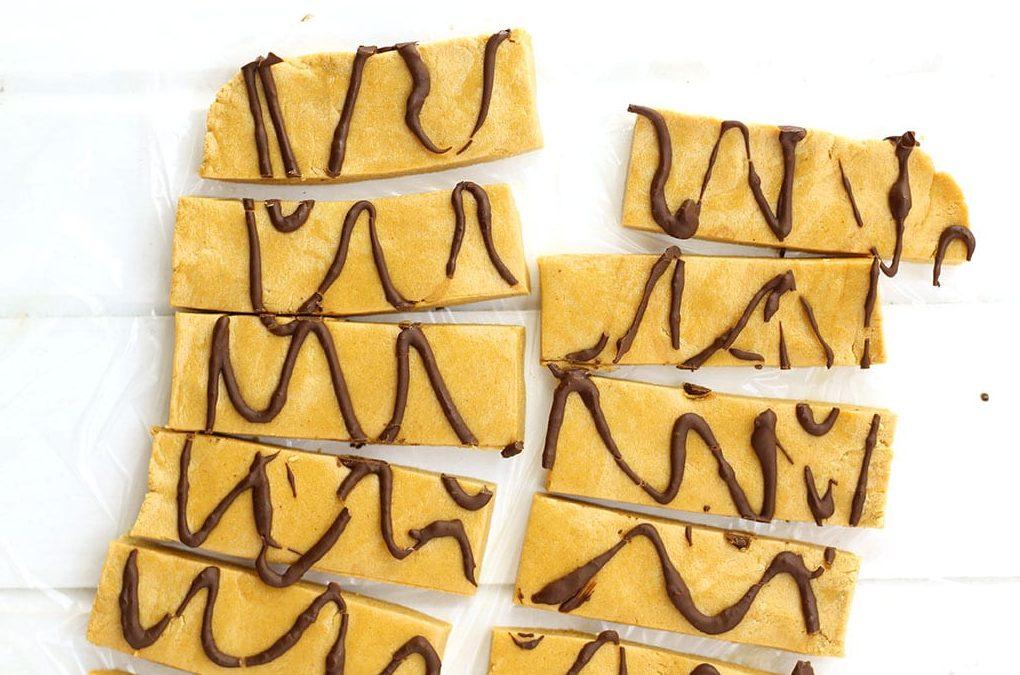 Barras de Proteína de Pasta de Amendoim